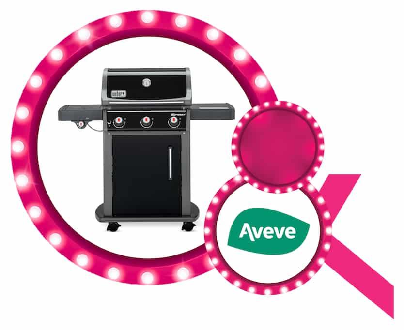 Weber BBQ aangeboden door Aveve Brustem