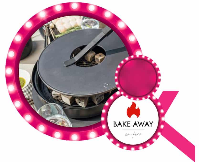Ofyr Tabl'o met bijhorende Ofyr accessoires aangeboden door Bake Away on fire