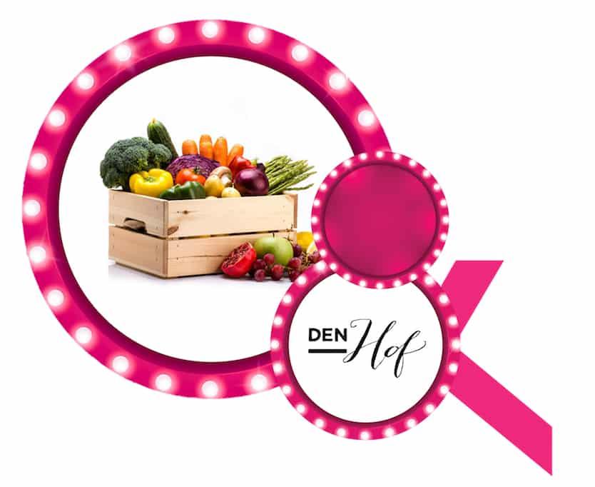 Een jaar groeten & fruit t.w.v. €100/m aangeboden Den Hof