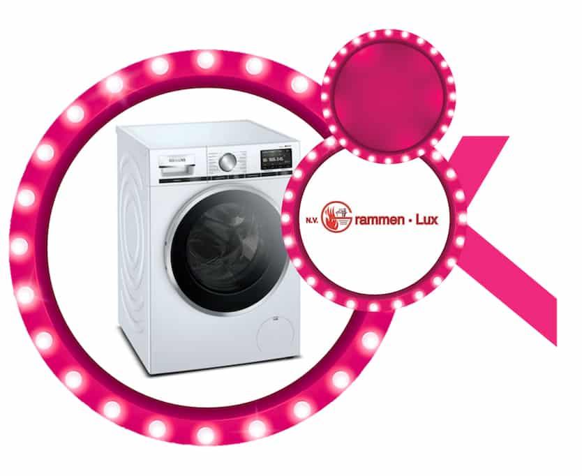 Siemens wasmachine aangeboden door Grammen Lux