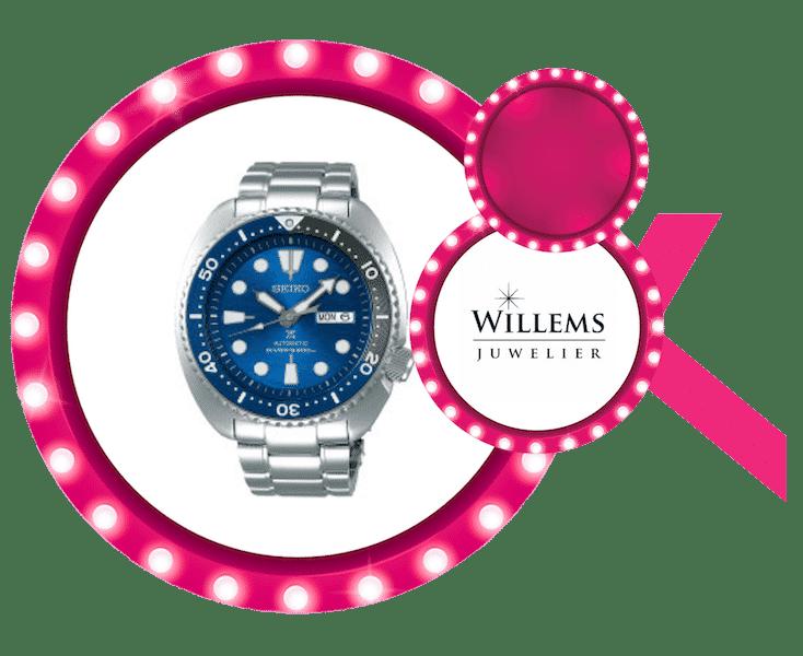 Seiko horloge aangeboden door Juwelier Willems