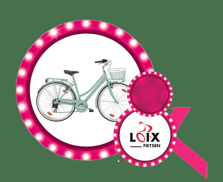 Fiets t.w.v. €650 aangeboden door Fietsen Loix