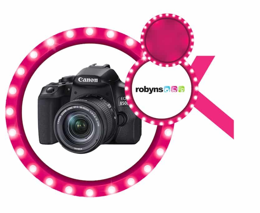 Canon EOS 850D aangeboden door Foto Robyns